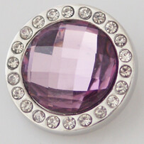 Large Top - Mauve Faceted