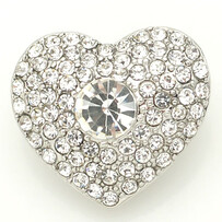 Large Top - Heart of Bling