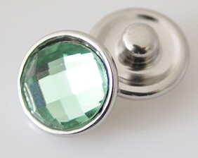 Small Top - Light Green Faceted